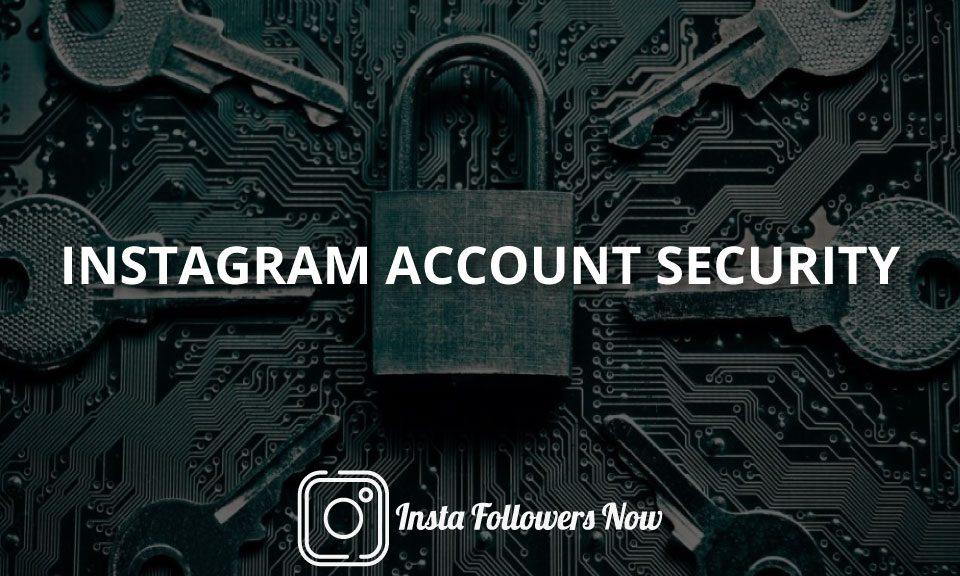 Instagram Account Security