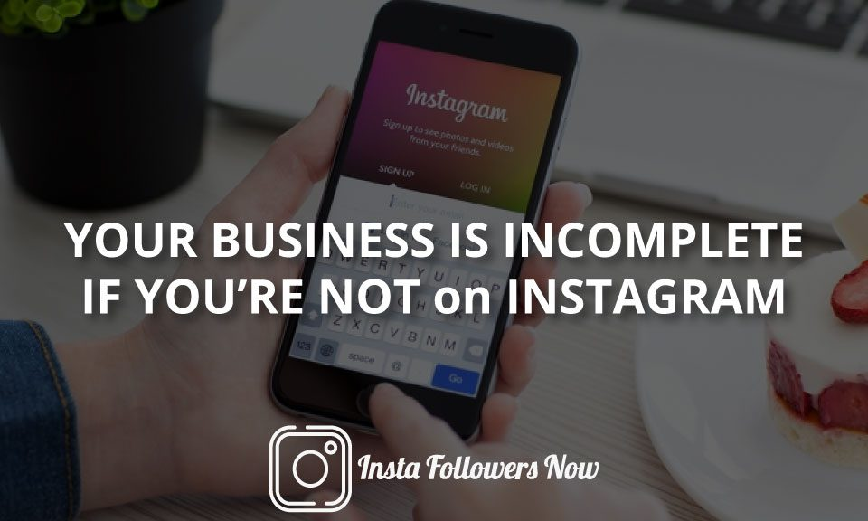 Instagram Business incomplete